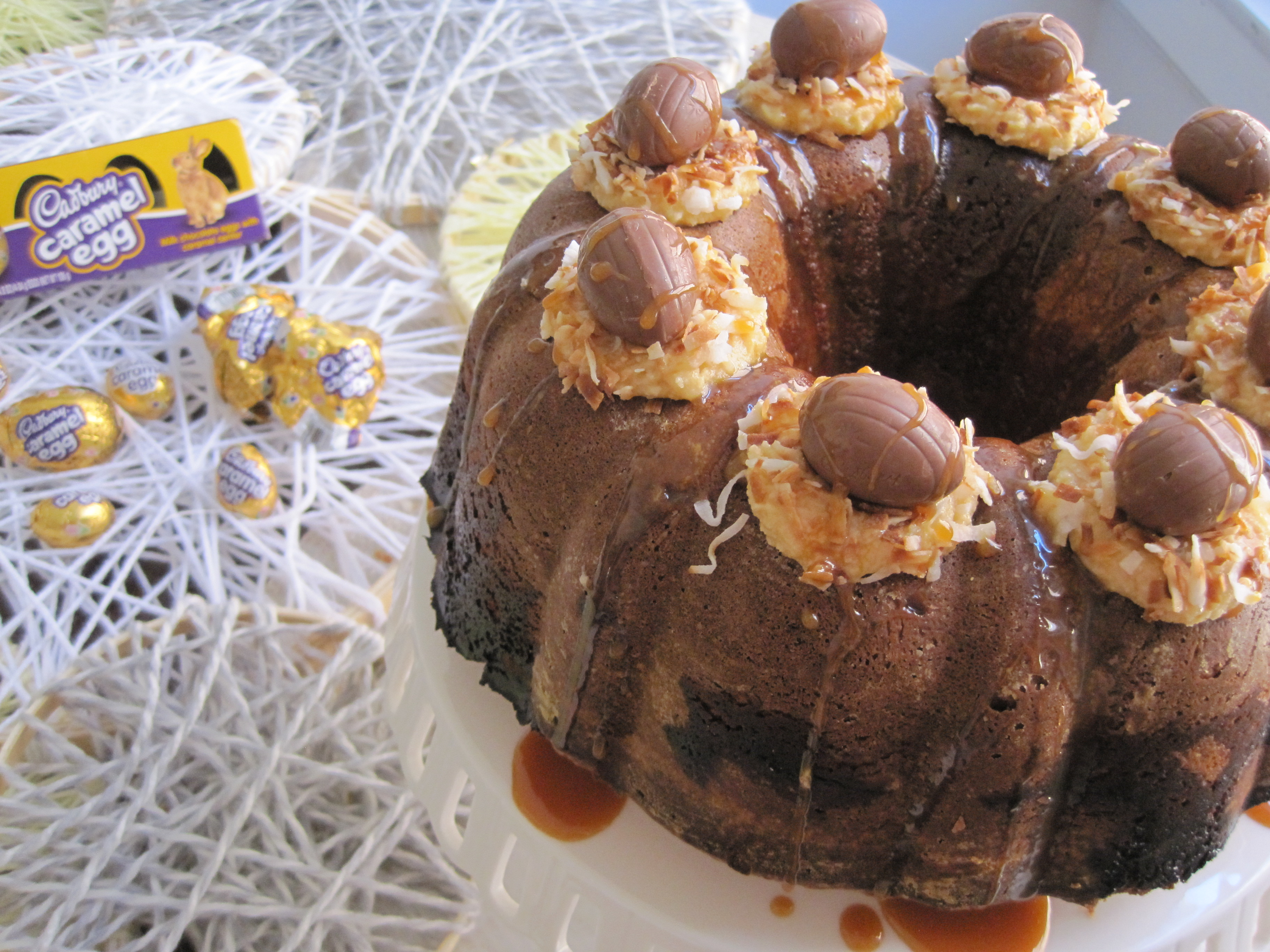 Cadbury Salted Caramel Bundt Cake For Easter