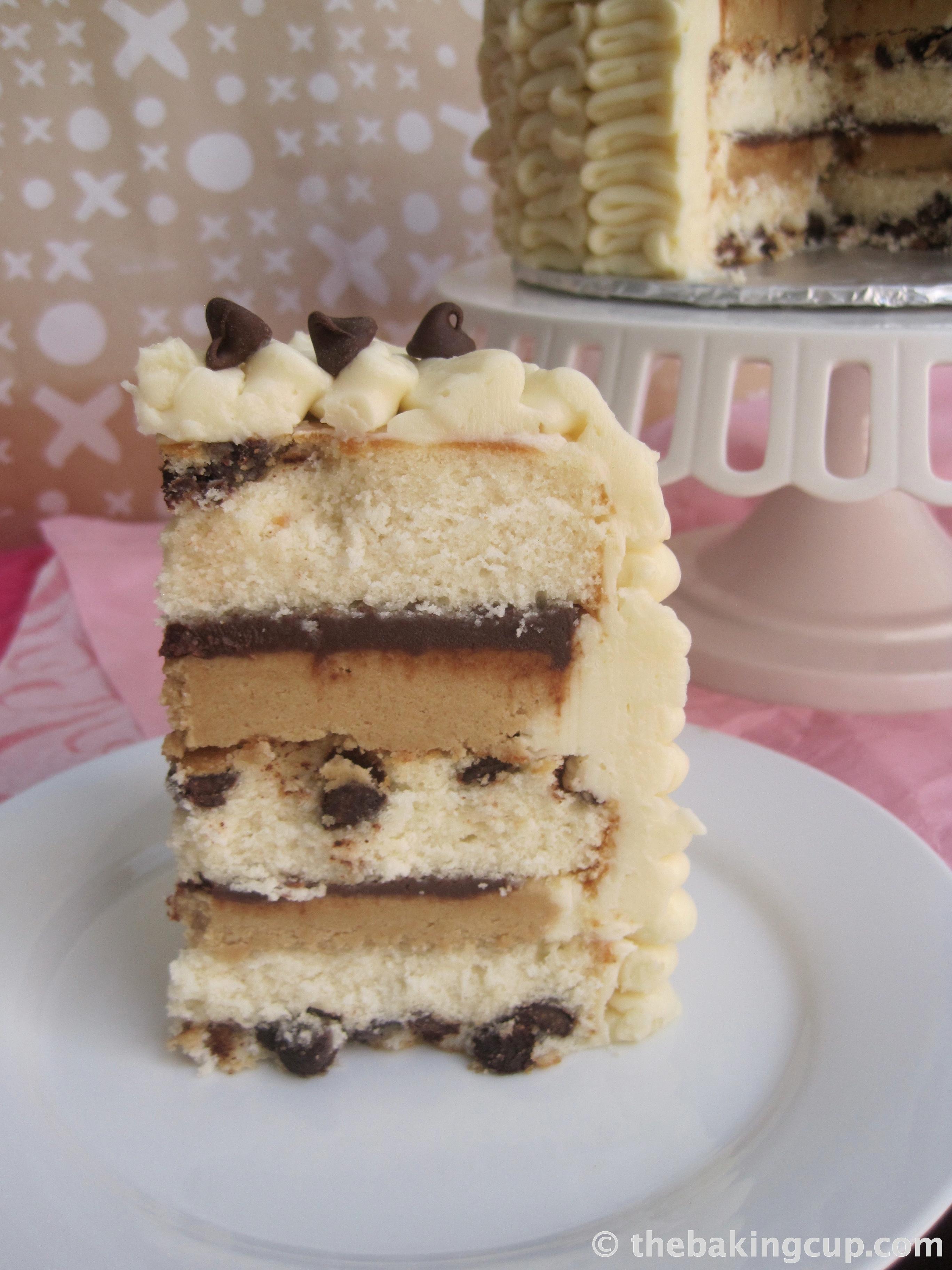 Ice Cream Layer Cake Europe Chocolate