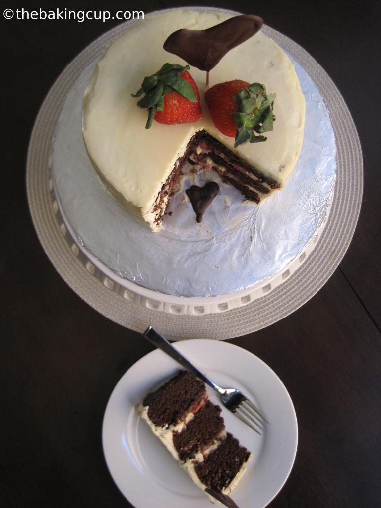 thebakingcup choc cake 4