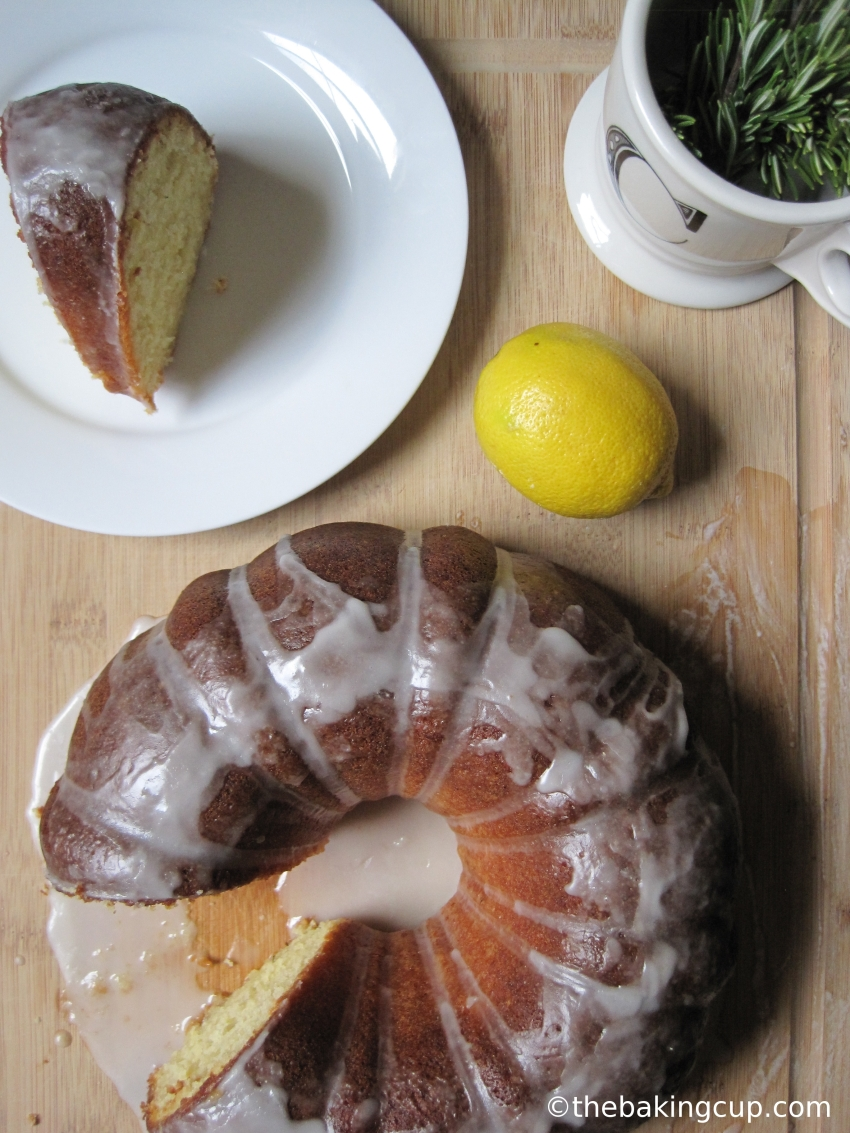 the baking cup olive oil lemon rosemary bundt cake 4